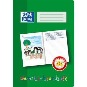 Oxford Geschichtenheft - DIN A4 - 16 Blatt