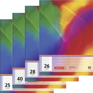 Brunnen Schulheft - DIN A4 - 32 Blatt