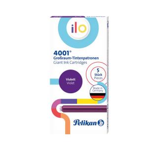 Pelikan 4001 ilo Tintenpatrone - violett - 5 Stück