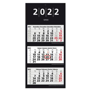 herlitz 3-Monats-Wandkalender - 2022