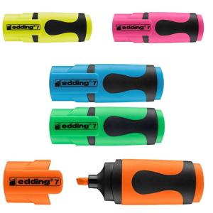 edding 7 Mini-Textmarker - Keilspitze - 1-3 mm