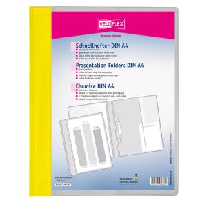 VELOFLEX Schnellhefter VELOFORM - DIN A4 - PVC - gelb